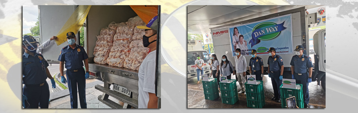 DanWay Processing Corporation donates 35,000 pcs dressed chicken to PNP