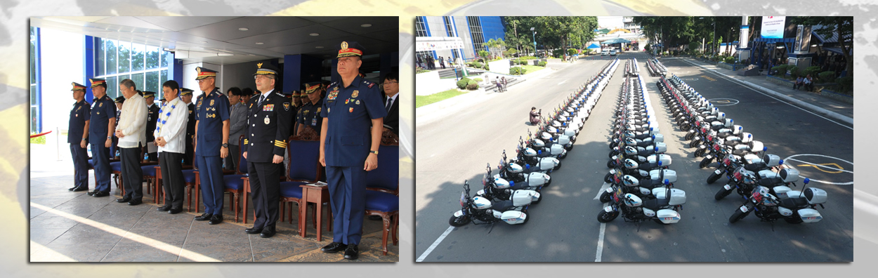 KOREA DONATES 142 MOTORBIKES TO BOOST PNP ANTI-CRIMINALITY DRIVE